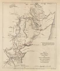 Map Of New England Colonies by Maps From The Journal Of The Royal Geographical Society Of London