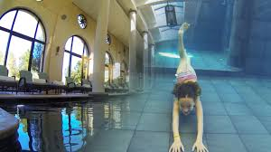 carla underwater amazing inside swimming pool youtube