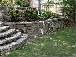 Large Paver Patio by Backyards Gorgeous 25 Best Ideas About Large Retaining Wall