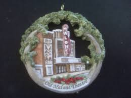 historic downtown sikeston ornament depicting malone theater