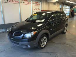 used 2003 pontiac vibe awd et automatique in cowansville used