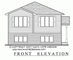 raised bungalow house plan rb249 house plans floor plans and