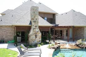 Outdoor Kitchen Covered Patio Ft Worth Outdoor Kitchen Photos Keller Outdoor Fireplaces
