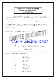 last will and testament form templates u0026 samples