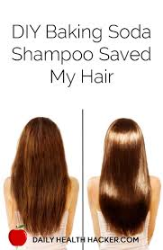 diy this baking soda shampoo saved my hair baking soda shampoo