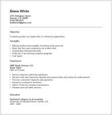 Sample Of Work Experience In Resume by Teller Resume Example Teller Job Teller Job Commercial Rental