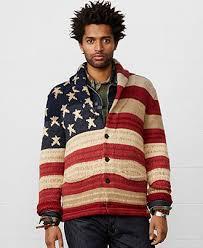 macy s ralph sweaters denim supply ralph flag shawl collar cardigan sweaters