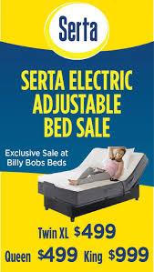 Tempurpedic Adjustable Bed Reviews Bedroom Design Comfortable Serta Adjustable Bed For Bedroom