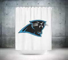 Nfl Shower Curtains Carolina Panthers Nfl Shower Curtain Shower Ink