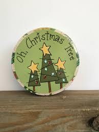 christmas tin christmas tree decoration oh christmas tree