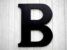 letter b wall decor ideas to wall decorations