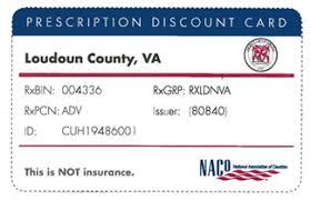 loudoun county va official website prescription discount