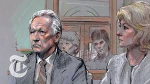 the courtroom sketch artist op docs the new york times youtube