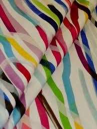 hamilton pattern brush stroke home decor fabric color rainbow