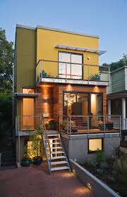 Modern Home Design For Narrow Lot Se Urban Small Lot Portland Oregon Designed By Brian Paul
