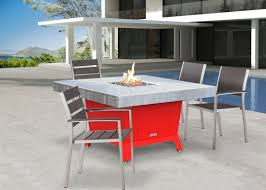 Firepit Dining Table by Socal Fire Pits Collection Cooke Furniture