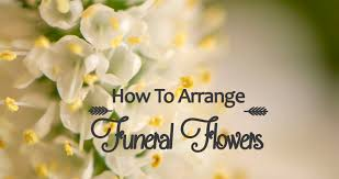how to arrange funeral flowers diy flower arranging tipsflower press