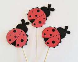 Ladybug Themed Baby Shower Cakes - diaper cake decor etsy