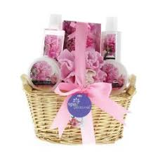 bath and gift baskets lavender and spa bath basket gift set 10016945