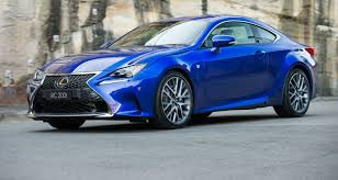 lexus rc 200t lexus rc new 200t variant joins australian line up for 2016