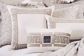 lili alessandra lauren jacquard fawn ivory bedding collection