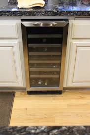 Kitchen Trash Compactor by Wine Fridge Install Meryl And Miller Llc