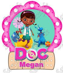 doc mcstuffins birthday doc mcstuffins iron on transfers