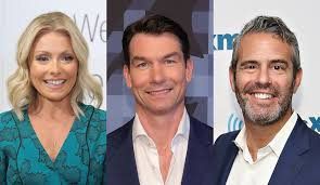 kelly ripa co host jerry o u0027connell andy cohen or richard curtis