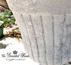 the decorated house how to create a faux cement paint finish