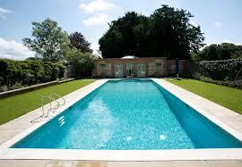 swimming pool garden room oxfordshire guncast pools tierra este