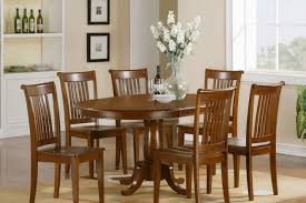 6 piece dining table set espresso finish huntington beach
