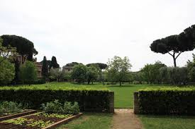 English Garden Layout by The Gardens American Academy In Rome
