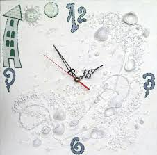unique clock unusual white wall clocks for your harmonious interior unique
