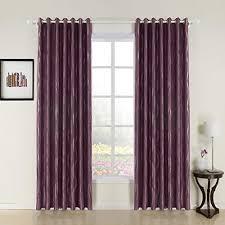 Purple Room Darkening Curtains Twopages River Jacquard Grommet Top Purple Room Darkening