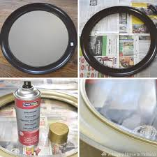 thrift store diy home decor diy mirror upcycle how to makeover thrift store mirrors
