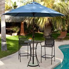 Patio Bistro Sets On Sale by Belham Living Wrought Iron Bar Height Bistro Set By Woodard