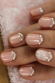 creative and unique wedding nail design one nail different