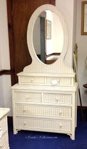 Henry Link Wicker Bedroom Furniture Henry Link Made In The Usa Wicker Dresser With Vanity Top Mirror