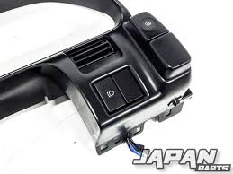 89 98 Nissan 180sx 240sx S13 Oem Gauge Cluster Bezel Silvia Jdm