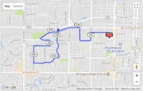 Arlington Tx Map The 40th Annual Zetnick Arlington Winter Run Arlington Tx 2017