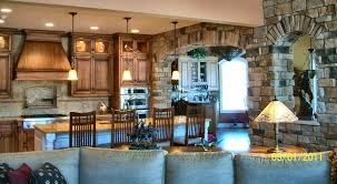 Lake House Kitchen by Hostetler Builders
