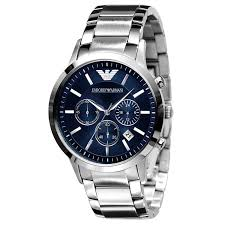 armani watches bracelet images Emporio armani men 39 s stainless steel bracelet watch ernest jones