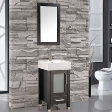 modern 18 inch bathroom vanities allmodern