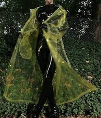 Pa3c by Ladies Pvc U Like Soft Glass Clear Yellow Raincoat Ro1 Pa3c