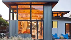 cool houses covered in steel metal homes youtube