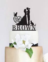 and groom cake toppers wedding cake topper mr and mrs cake topper with last name custom