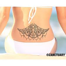 henna temporary tattoo back tattoo large back tattoo lower