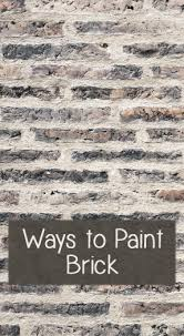ways to paint brick color paints paint brick and bricks