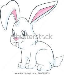 cute rabbit illustration stock vector 104699303 shutterstock