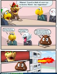 Board Meeting Meme - bowser holds a board meeting laugh roulette